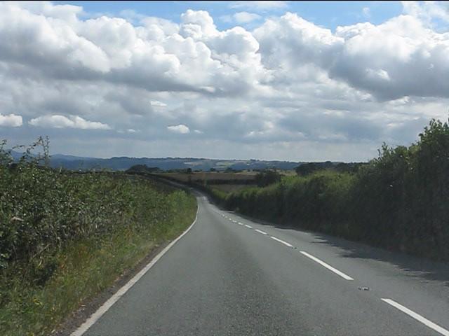 B4202 heading south