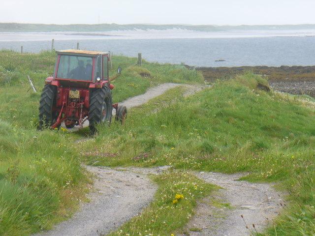 Trolaisgeir Tractor