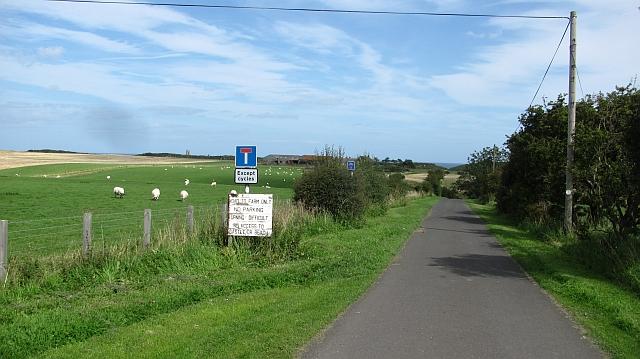 Road to Dunstan Square