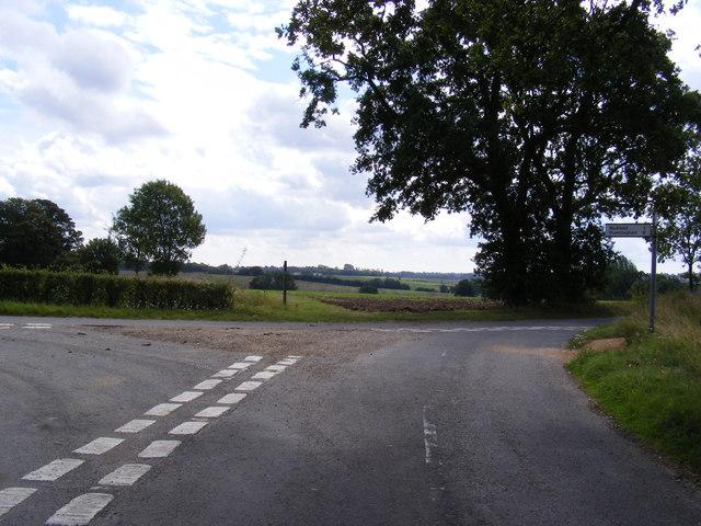 School Road junction