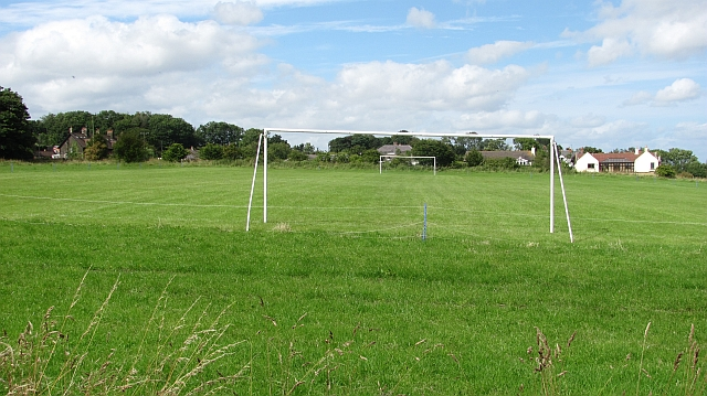 Football pitch, Craster