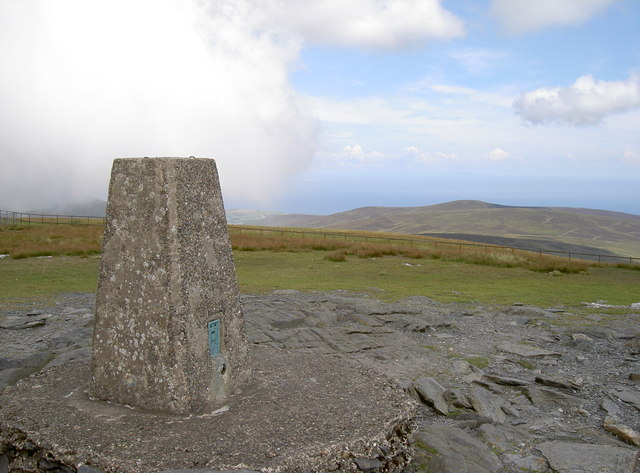 Snae Fell Trig Pillar