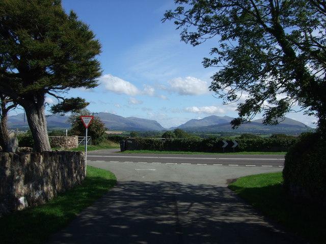 View towards Llanberis Pass