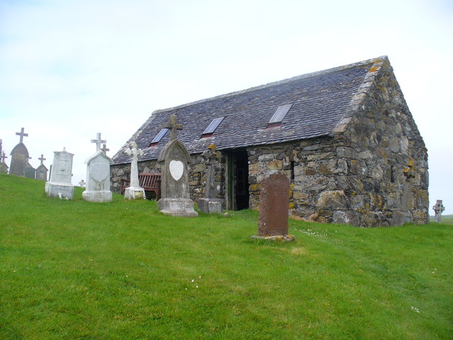 Chapel at Cille-bharra
