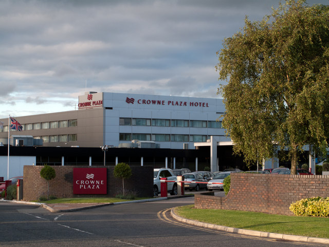 Crowne Plaza Hotel at Manchester Airport