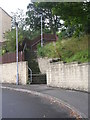 SE1528 : Steps from The Gateways up to Woodside Road by Betty Longbottom
