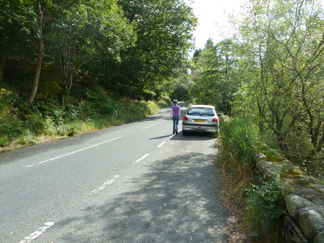 A593 by Yew Tree Tarn