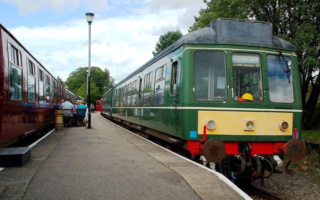 On Dufftown Platform