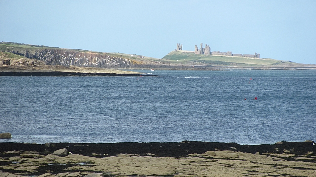 View northwards, Howdiemont Sands