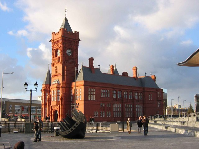 The Pierhead Building,  Cardiff Bay.