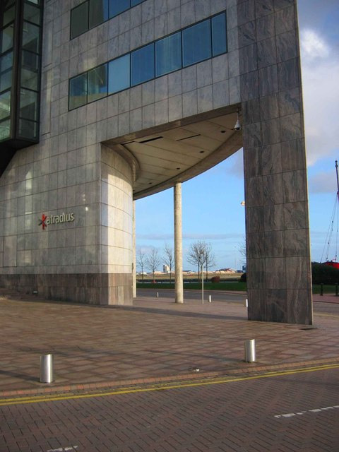 The Artradius Building, Cardiff Bay.