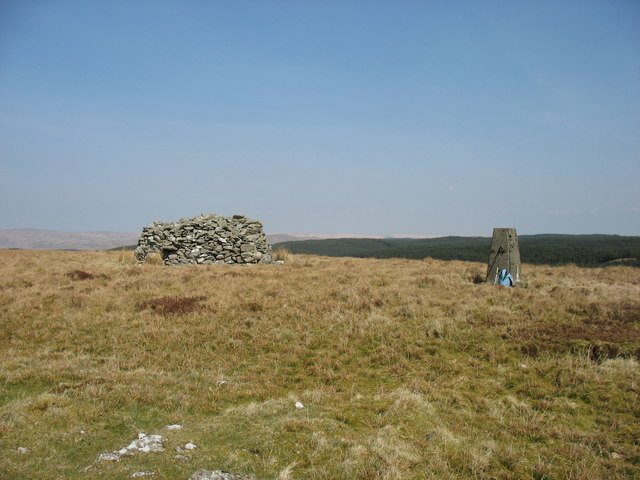 The summit of Garn Gron