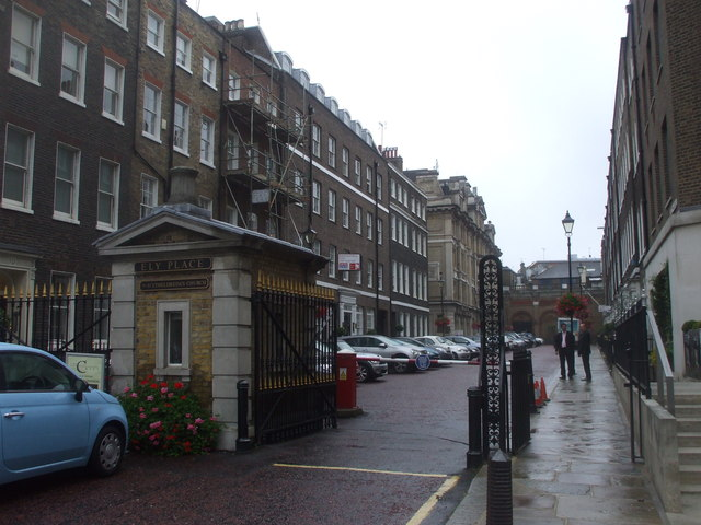 Ely Place, London