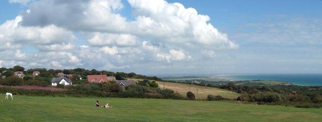 Hastings Country Park panorama