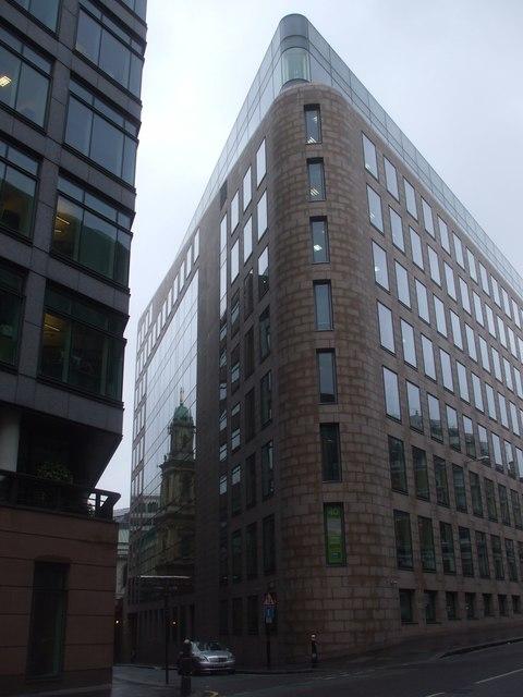 Office block, corner of Shoe Lane and Charterhouse St, London