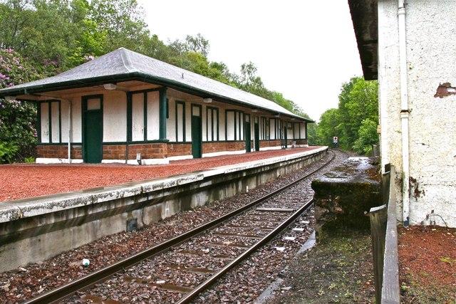 Garelochhead Railway Station