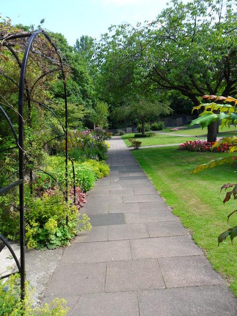 Public garden, Holmfirth