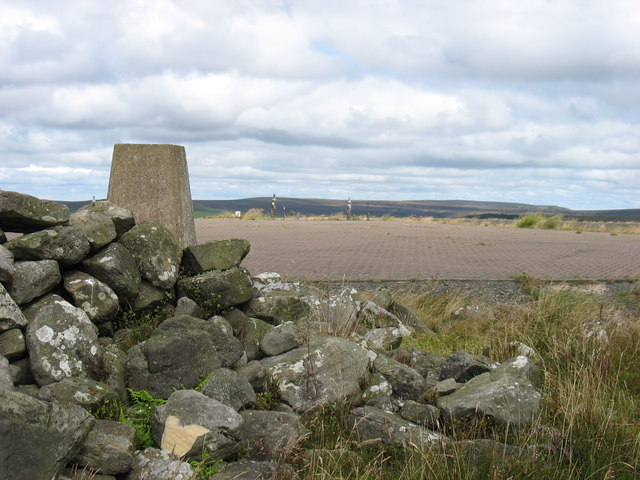 The summit of Monkside Hill