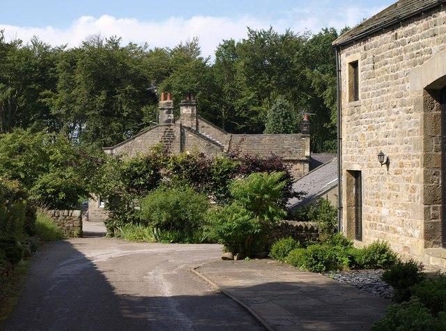 Rear of the Sun Inn, Bramelane