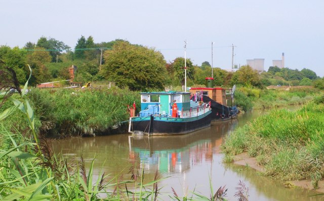 House Boats on the River Stour