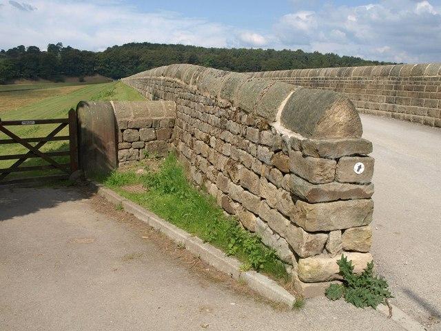 Walls, Swinsty Reservoir dam