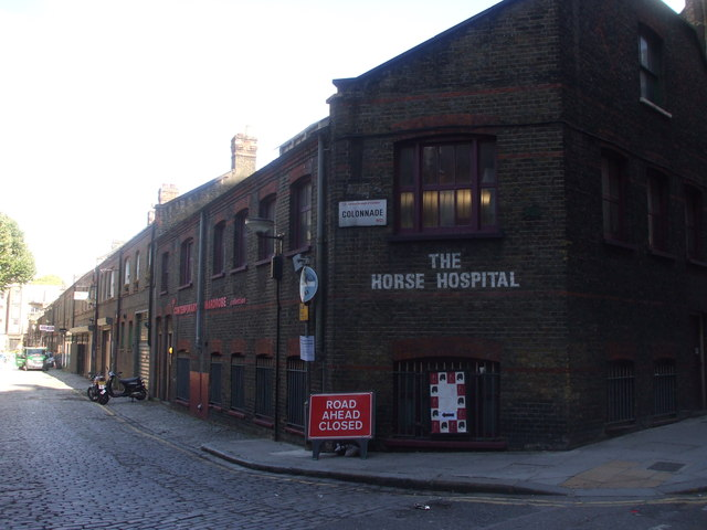 The Horse Hospital, Colonnade, London