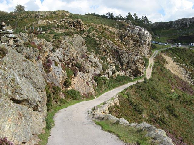 Rhyolite crags