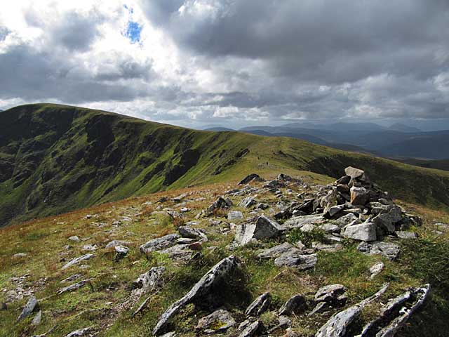 Ridge heading towards Stob Poite Coire Ardair