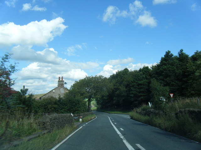 B5470 at Four Lane Ends Farm