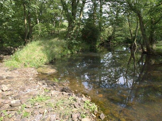 River Washburn at Timble Beck confluence