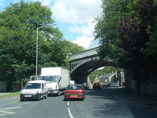 Buxton Road railway bridge