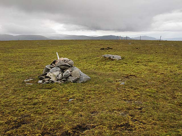 Cairn at spot height 903metres