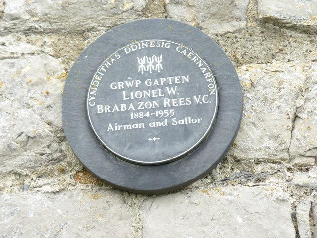 Grŵp Gapten Lionel W. Brabazon Rees V.C.  1884 - 1955, Caernarfon