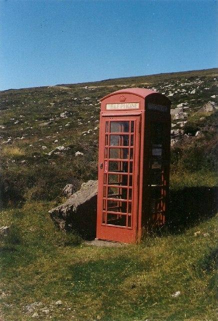 Erratic Phone Booth