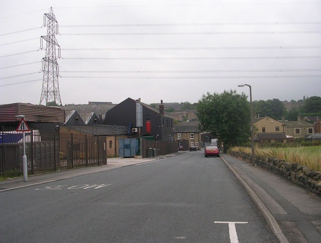 Carr Lane - viewed from Morley Carr Road