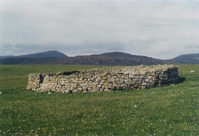 Sheepfold on Faraid Head