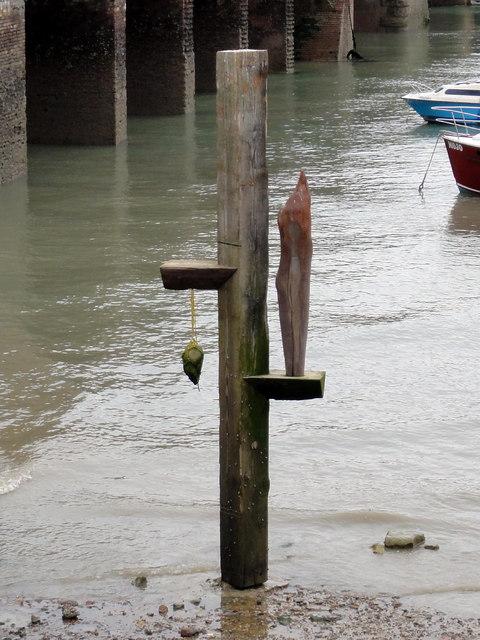 "Folkestone, inner harbour basin, ""Carrancas"""