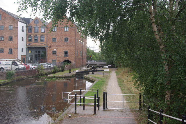 Walsall Canal, Walsall