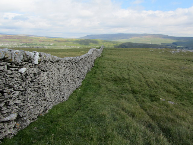 View towards Great Whernside