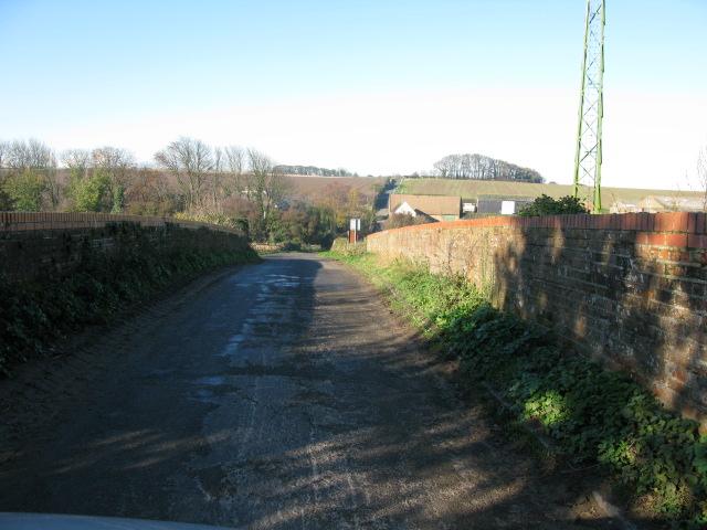Brook Bridge crossing the railway line