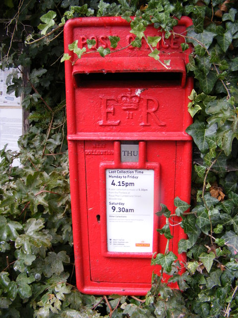 Monk Soham Postbox