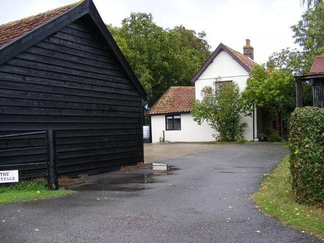 The Cottage & Entrance Drive