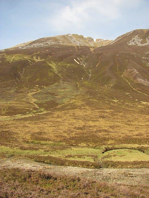 Carn nan Gabhar  and Glen Loch