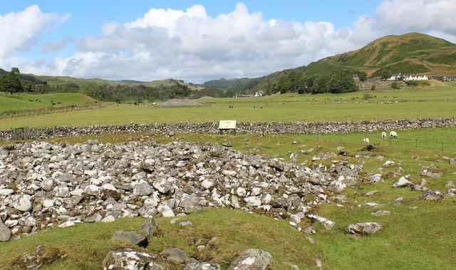 The linear cemetery in Kilmartin Glen