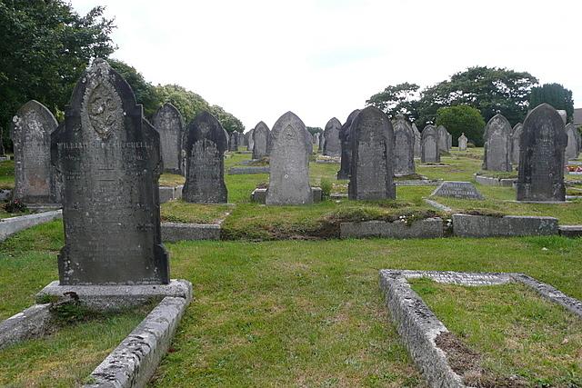 St Agnes burial ground