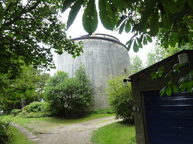 Folkestone, Wear Bay Road, Martello Tower No. 2
