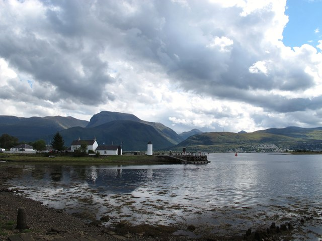 Corpach; entrance to the Caledonian Canal