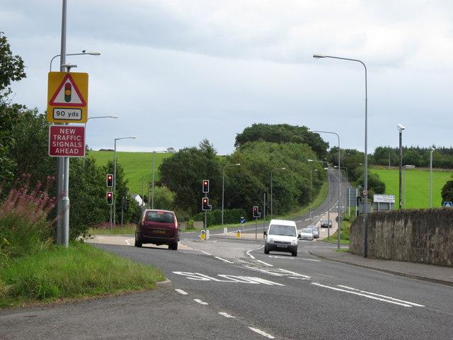 A713 Dalmellington Road