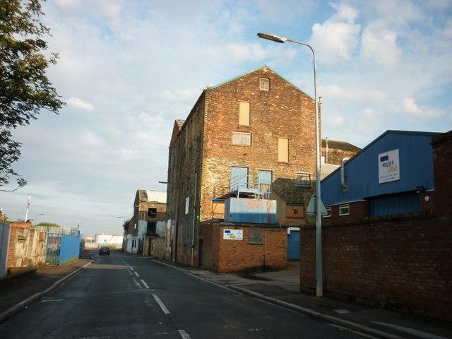 Wincolmlee (road) Kingston upon Hull