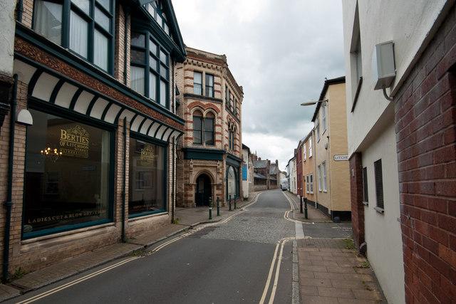 Bertie's Hairdressers, Litchdon Street, Barnstaple